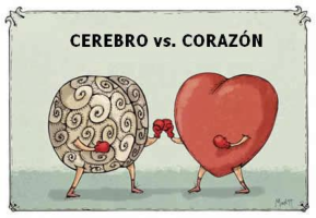 cerebro vs corazon